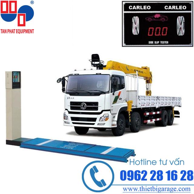 bệ cân trọng lượng 10 tấn/ trục | bệ cân trọng lượng | mở xưởng đóng thùng xe tải
