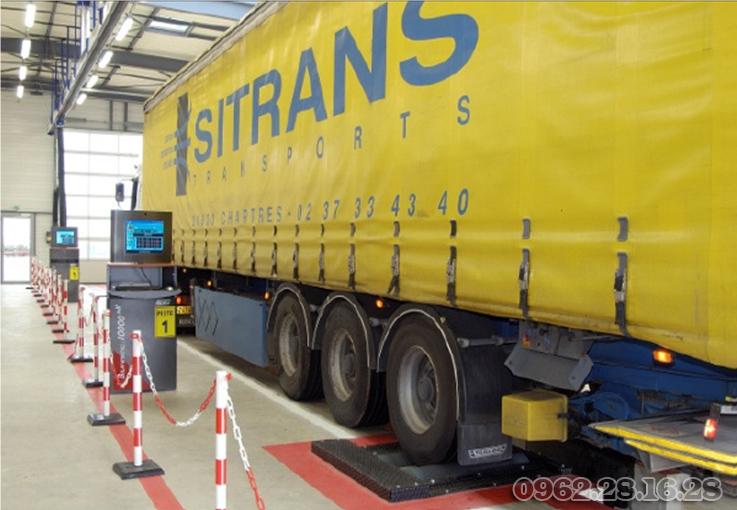 bệ thử phanh cho dây chuyền kiểm định xe tải | thiết bị kiểm tra phanh ô tô | bệ thử thắng | bệ thử phanh xe tải