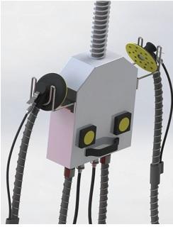 bộ đầu cấp khí nén hút bụi | hệ thống hút bụi trung tâm