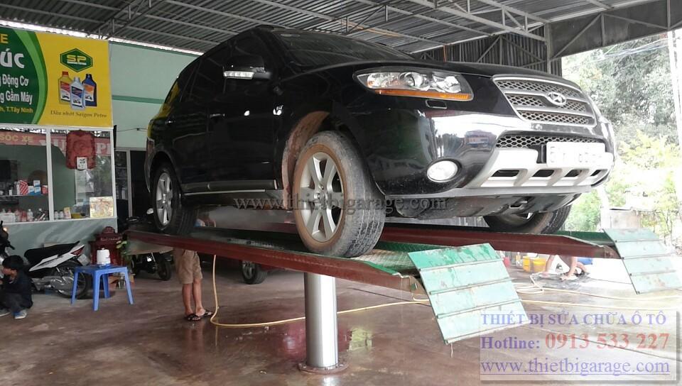 Phân phối cấu nâng 1 trụ rửa xe ô tô