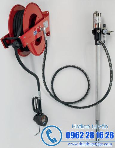 hệ thống bơm dầu nhớt trung tâm | bơm dầu treo tường