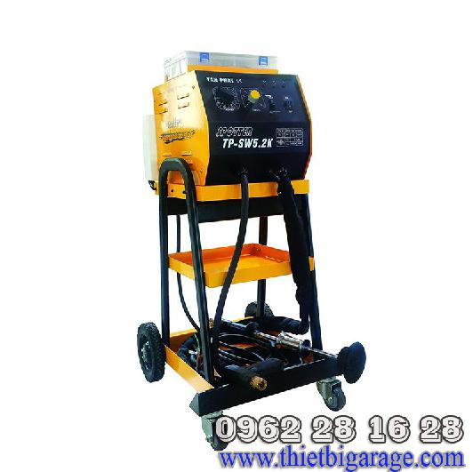 máy giật tôn làm đồng xe tai nạn | máy hàn rút tôn | máy rút tôn solary | solary 5200