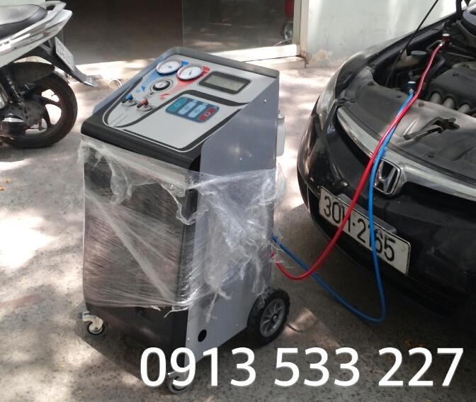 Cung cấp Máy nạp gas tự động KC100; Mr. Linh - 0913 533 227