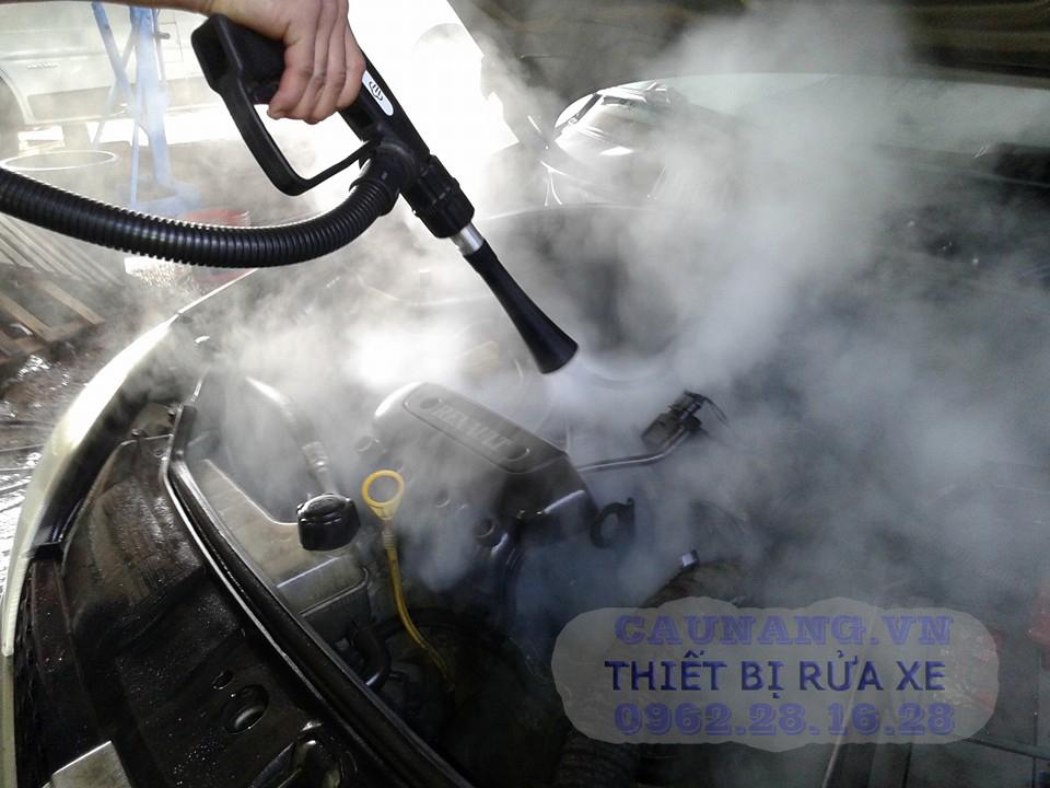 máy rửa xe bằng hơi nước nóng | may rua xe hoi nuoc nong | may rua xe oto hoi nuoc nong | máy rửa xe