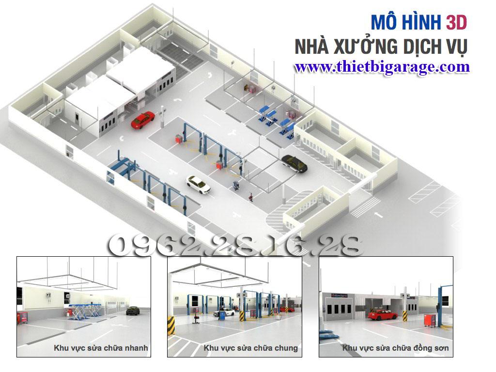 mở gara ô tô tiêu chuẩn cần những gì | mở gara ô tô | tư vấn mở xưởng sửa chữa ô tô